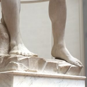 The most beautiful feet in Florence?